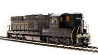 BROADWAY LIMITED 5808 HO SD9 PRR 7604 Brunswick Green Paragon3 Sound/DC/DCC