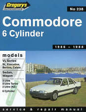 New Holden Commodore 1986-1988 Gregory's Repair Manual