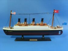"Wooden RMS Titanic Model Cruise Ship 14"""