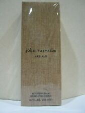 John Varvatos Artisan for Men ~  After Shave Balm 6.7 oz. / 200 ml - New in Box