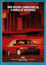 HOLDEN VP V6 COMMODORE 4 PAGE BROCHURE 1991