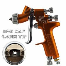 DeVilbiss SRI Pro Lite HV5 Air Cap 1.4mm Fluid Tip HVLP Air Spray Paint Gun