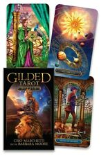 Gilded Tarot Royale - 78 Borderless Card Deck + Instruction Booklet - NEW 2020!