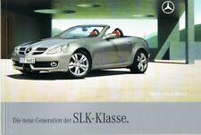 Prospekt Mercedes SLK-Klasse R 171 03/08 2008