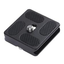 PU40 Quick Release Plate for J1 N1 Tripod Ball Head Arca Swiss w/1/4 inch Screw