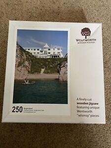 "Wentworth wooden jigsaw puzzle 250 pieces ""Burgh Island"""