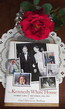 Jackie John Kennedy White House Family Life HC book 337 photos many unseen
