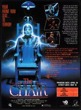 THE CHAIR__Original 1991 Trade print AD / promo__JAMES COCO__STEPHEN GEOFFREYS
