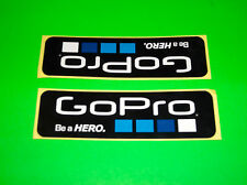 GO PRO GOPRO HERO 2 3 HD BLACK SILVER WHITE EDITION CAMERA STICKERS DECALS (^*%)