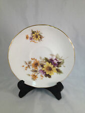 "Floral Duchess Bone China England Saucer - 5-1/2"" Diameter"