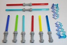 Lego Lightsaber x 8 & Lightning Weapons x 2 Mixed Collection