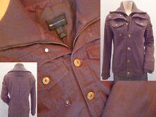 MNG Mango Casual Sportswear Jacke Damen braun Gr M sehr guter Zustand
