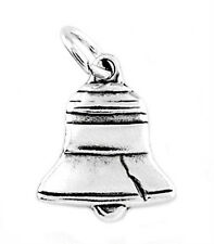 STERLING SILVER LIBERTY BELL CHARM/PENDANT