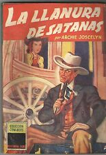COW-BOYS COLLECTION # 8 - LA LLANURA DE SATANAS - Argentine Short Stories 1949