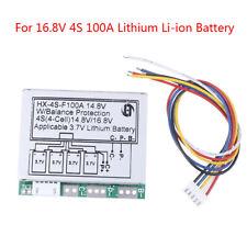 4S 14.8V 16.8V 100A w/balance Li-ion lithiu 18650 battery Bms protection boardVv