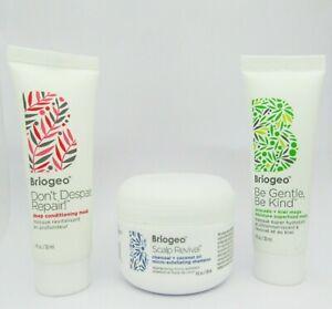 Briogeo Scalp Revival exfoliating shampoo Don't Despair Repair & Be Gentle Mask