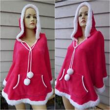 COTTON ON BODY one size PONCHO sleep JACKET HOT PINK white BUY 3+item= FREE POST
