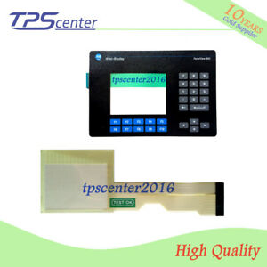 Touch screen panel for AB 2711-B6C2 2711-B6C2L1 with Membrane keypad keyboard
