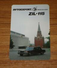 Calendrier AVTOEXPORT / ZIL 115 de 1988