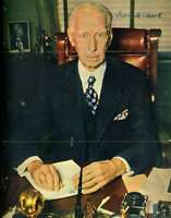 Connie Mack Psa/dna Coa Autograph Hand Signed 8x10 Photo