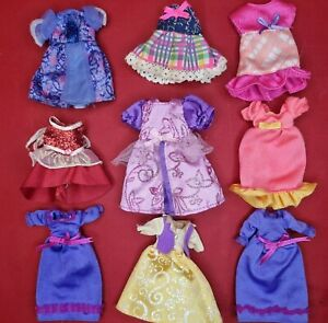 Barbie Shelly Kelly Chelsea Doll Clothes Dresses Gowns Fashion Accessory