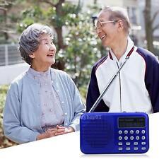 Mini Portable LED Display FM Radio Speaker SD TF card USB MP3 Music Player