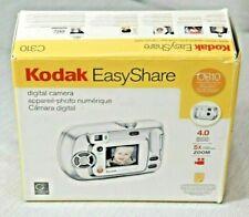 NOS Kodak EasyShare digital camera C310, open box, never used. No USB cable