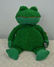 Russ Berrie Paddy Frog Plush Stuffed Animal Toy Green Item 3128 Corduroy