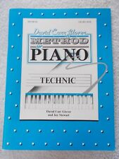 Glover Method Piano Technic Level 1 Elementary Unmarked
