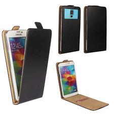 Handy Hülle | HUAWEI Ideos X3 | Flip Schutz Tasche | Flip Schwarz XS