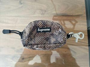 Supreme Snakeskin Box Logo Stash pouch