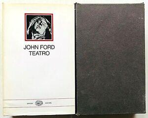 John Ford Teatro Einaudi Millenni 1971 a cura di Enzo Giachino