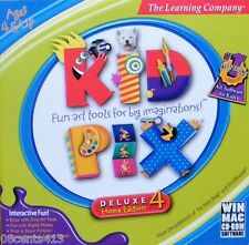 Kid Pix Deluxe 4 (Home Edition) (PC) Fun Art Tools For Big Imaginations!
