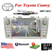 "For 8""Toyota Camry 2007-2011 GPS Navigation Car Radio Stereo DVD Player+Back Cam"