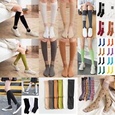 Women Sock Long Asymmetric Calf Sock Fashion Stocking Wild Stripes Leg Stockings