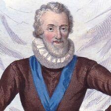 Henri IV de Bourbon Henri Le Grand Roi Navarre Guerre de Religion Edit de Nantes