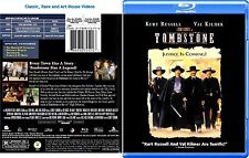 Tombstone ~ New Blu-ray ~ Kurt Russell, Val Kilmer, Bill Paxton (1993)