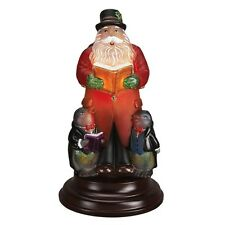 Merck Old World Christmas 2016 Caroling Santa Light