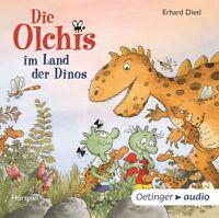 DIE OLCHIS IM LAND DER DINOS - DIETL,ERHARD   CD NEU