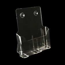 10 x Prospektständer, Prospekthalter Prospekt Aufsteller DIN A4 hoch, (160003)