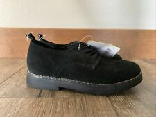 Nwt Gymboree Boys Black Leather Dress Shoes Size 13