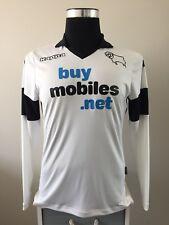 Derby County Hogar Camiseta De Fútbol Jersey Manga Larga 2013/14 (M)
