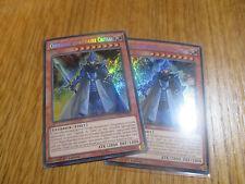 x2 Cartes Yu Gi Oh ! Chevalier Légendaire Critias DRL2-FR002