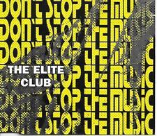 THE ELITE CLUB - Don't stop the music CDM 6TR Euro House 1995 (Zyx)