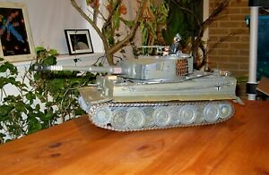 *** 21st Century Toys 1/18 Ultimate Soldier WWII German Tiger 1 Tank 326 ***