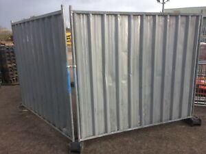 Heras Fencing / Site Security Fencing / Used Readyhoard Fencing Panels @£25 each