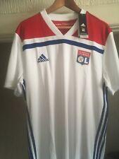 Olympique Lyonnaise Adidas Home Football Shirt Lyon 2018/19 XL No Sponsor New Wt