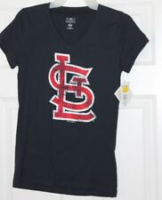 St. Louis Logo Dark Blue Women's T-Shirt Size S