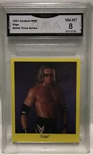 1997 Cardinal WWF Trivia EDGE Rookie GMA 8 Near Mint To Mint Rated R Super Star