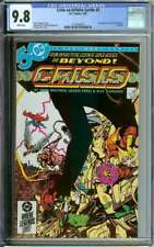 CRISIS ON INFINITE EARTHS #2 CGC 9.8 WHITE PAGES